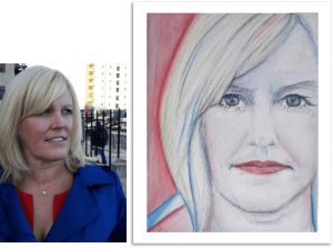 Portrait of Tracey Jenkins Founder of Introbiz Cardiff