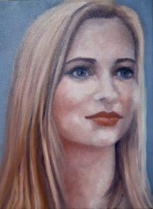 Portrait of Christine